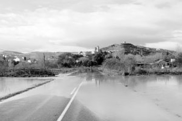 Miranda fue la localidad más perjudicada por la crecida del río Arga