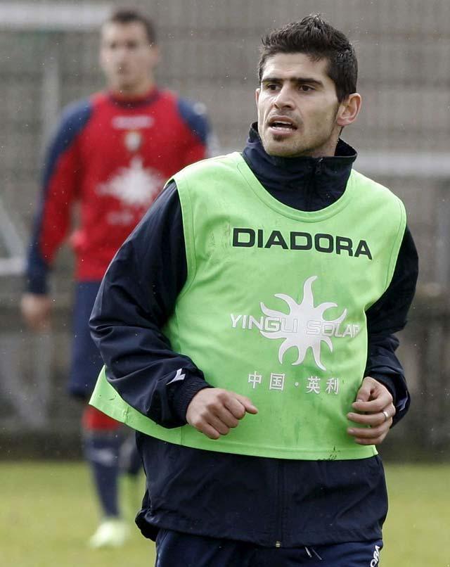 """Hidalgo: """"Es un motivo de orgullo que Osasuna se fijara en mí"""""""