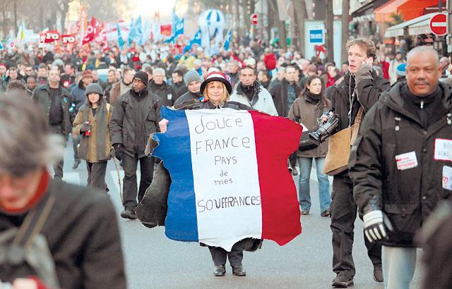 La huelga general no paró Francia, pero logró un éxito de manifestaciones