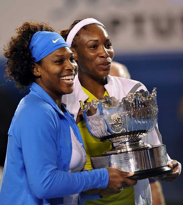 Triunfo para las Williams en el doble y marca mundial para Serena