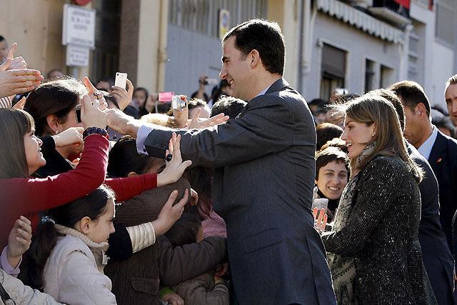Los Príncipes de Asturias instan a trabajar en la imagen de marca para el mueble de Yecla