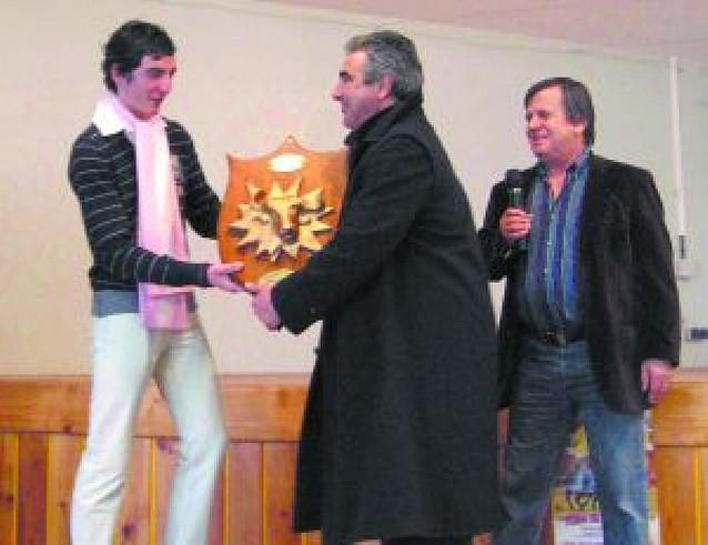 El ganadero navarro Santafé recoge dos premios en Francia