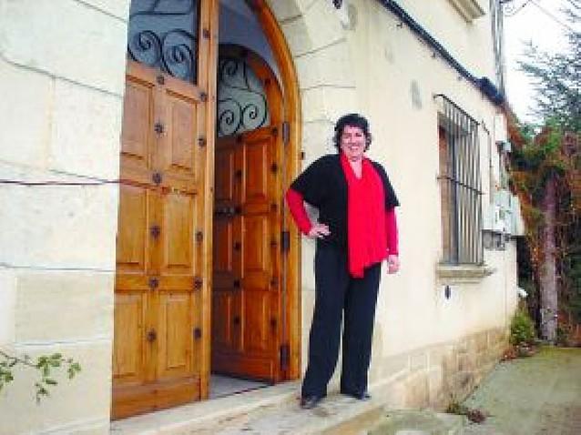 """Mariví Goñi Azanza: """"Debatimos las cosas, pero en los plenos compartimos café y pastas"""""""