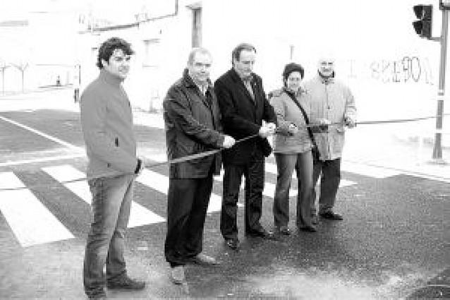 Abierto al tráfico el paseo del Ebro de Lodosa tras las obras de mejora y ensanche
