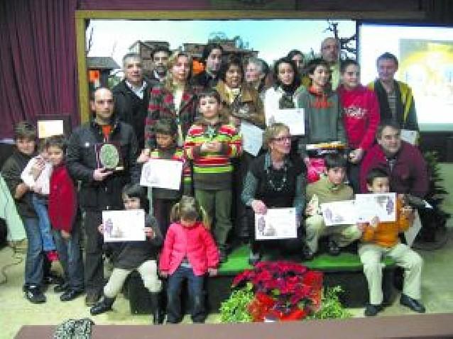 Los belenistas dieron los premios de sus concursos