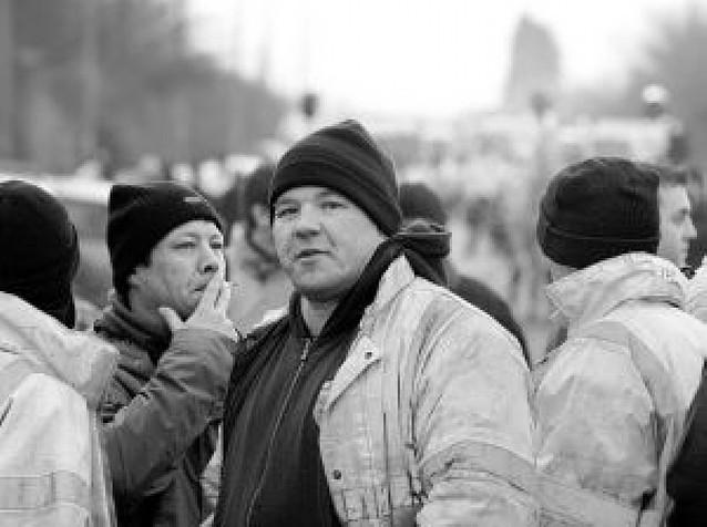 Protesta laboral británica contra extranjeros
