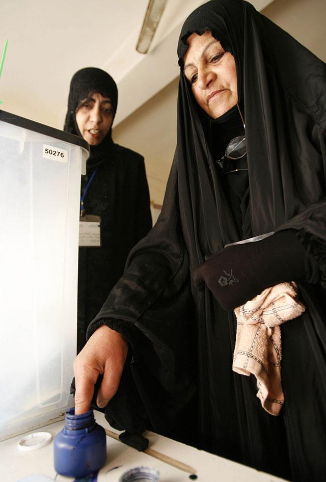 Comienzan las elecciones provinciales en Irak
