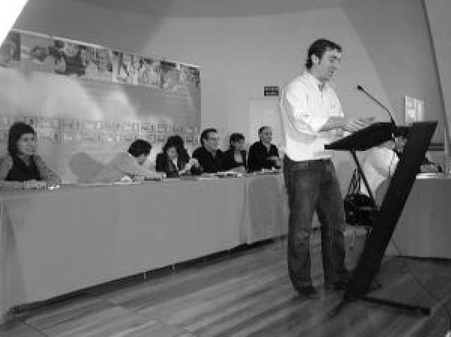 "Jiménez urge a Sanz un ""plan de choque"" para la economía navarra"