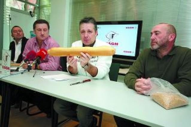 UAGN dice que el trigo vale sólo el 3% del euro que cuesta la barra de pan