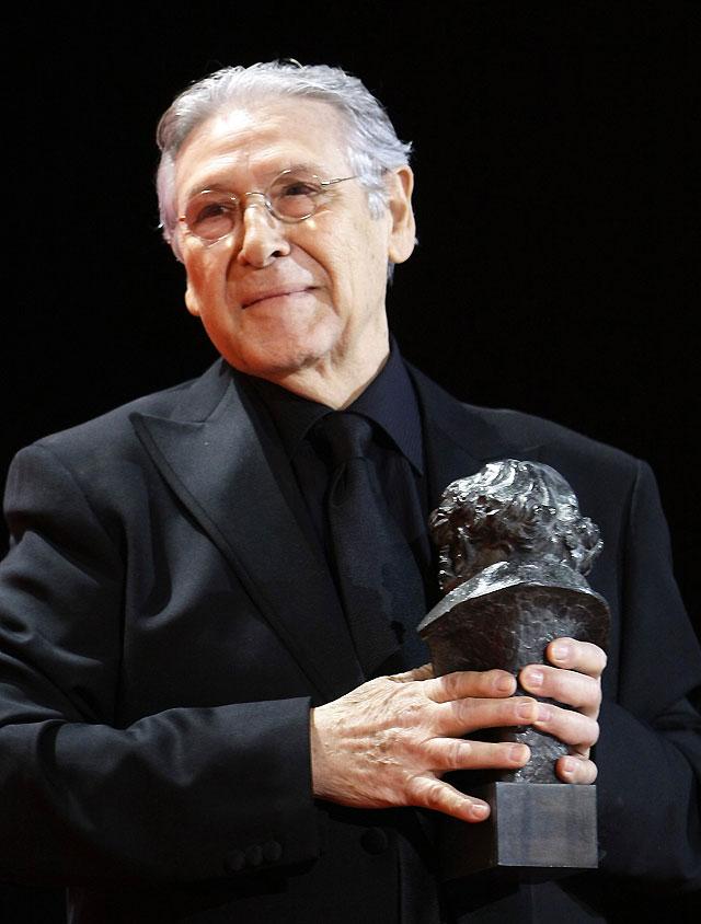 """Jordi Dauder recibe el Goya al mejor actor de reparto por su papel en """"Camino"""""""