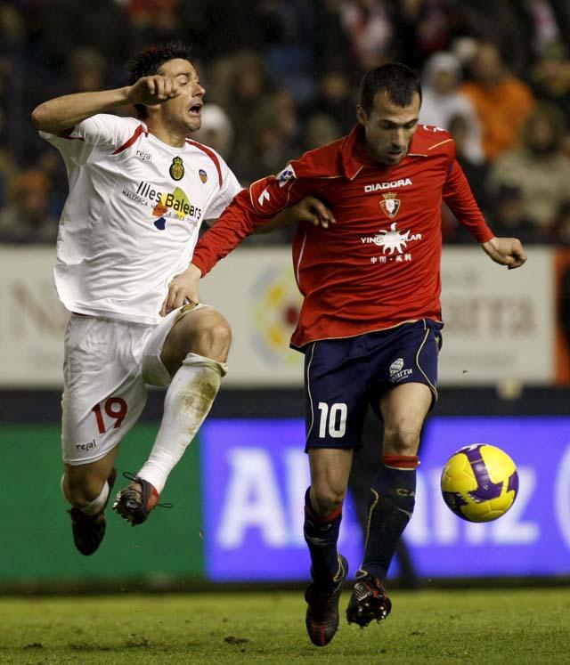 Josetxo y Nekounam, bajas ante el Valencia, mientras que Sergio será alta