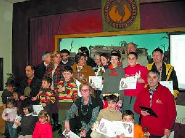 Entrega de premios de la Asociación de Belenistas