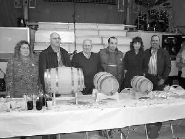 Luis Lojo repite triunfo en la cata de vinos caseros de Milagro