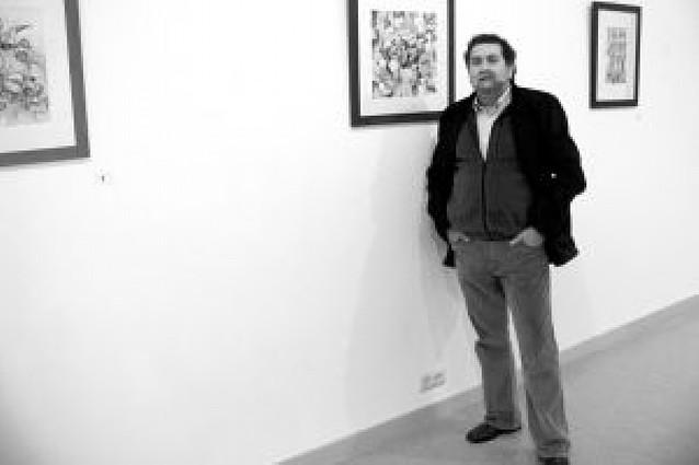 Jesús Martínez expone 34 cuadros en la sala Agustinos de Lodosa