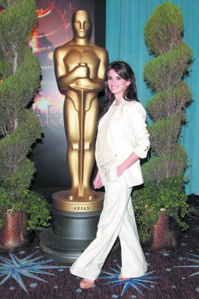 Penélope Cruz, tan nerviosa por el Óscar como por el Goya