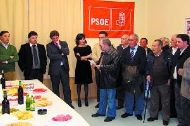 PSN inaugura su nueva sede situada en la calle Tafalla