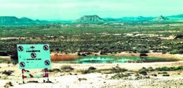 Aralar recurre el convenio del polígono de tiro de Bardenas