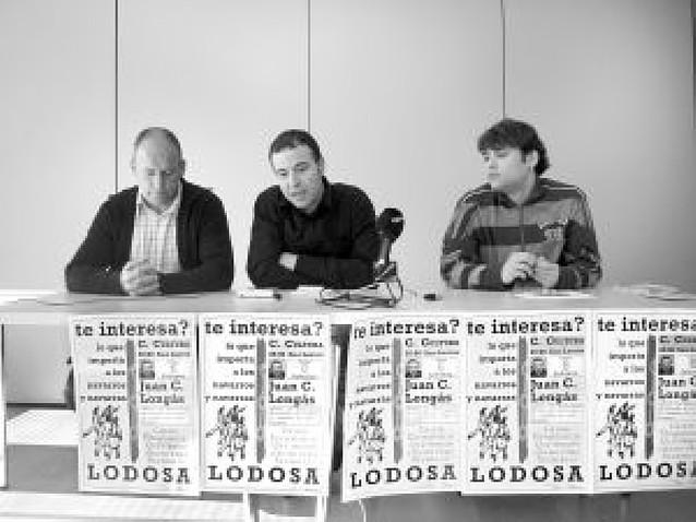La crisis económica inicia el ciclo de charlas de Loiu en Lodosa