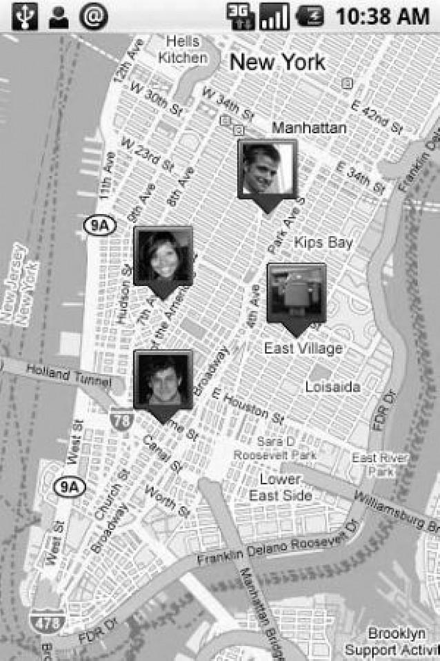 Google ayuda a localizar a los amigos a través del móvil