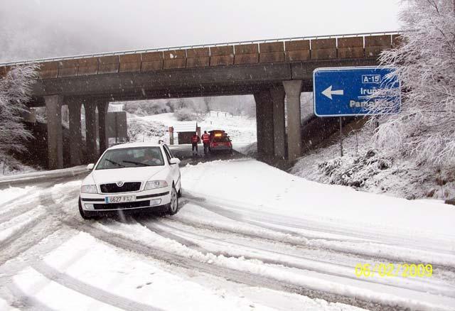 La nieve cubrirá el norte de España por encima de los 300 metros durante el fin de semana