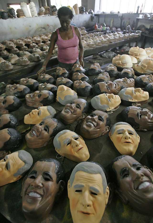 """La """"Obamamanía"""" estará presente en el Carnaval de Río de Janeiro"""