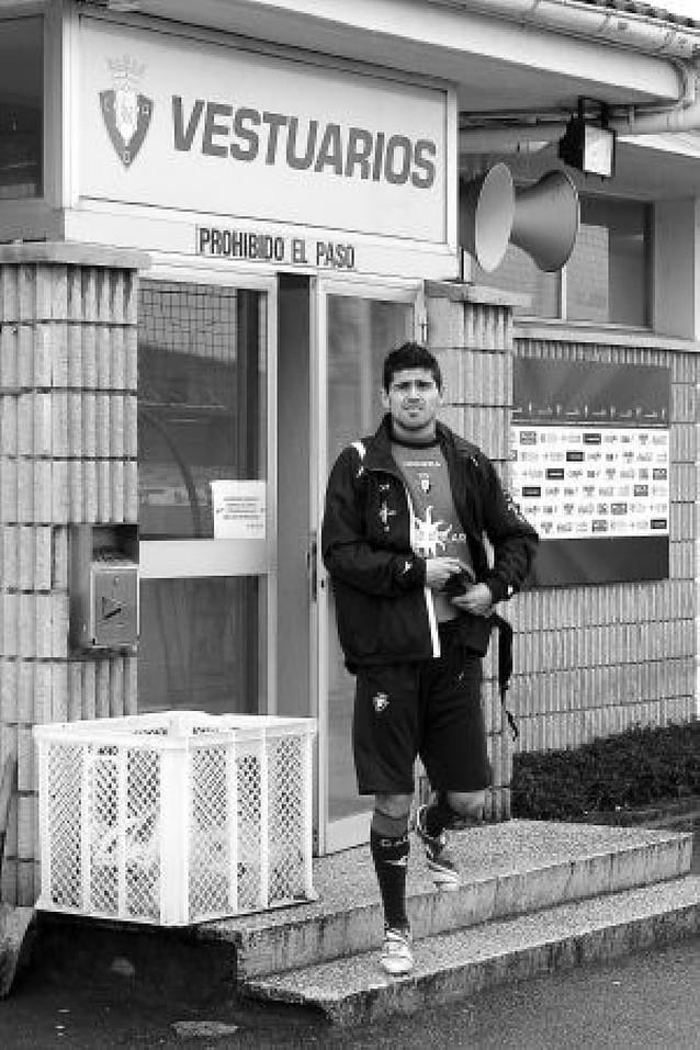 "Hidalgo: ""Se nota que ser de Osasuna es diferente"""