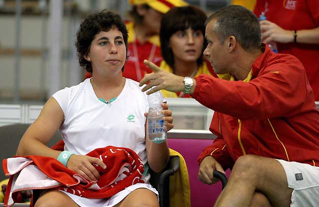 Nuria Llagostera empata la eliminatoria contra la República Checa (1-1)