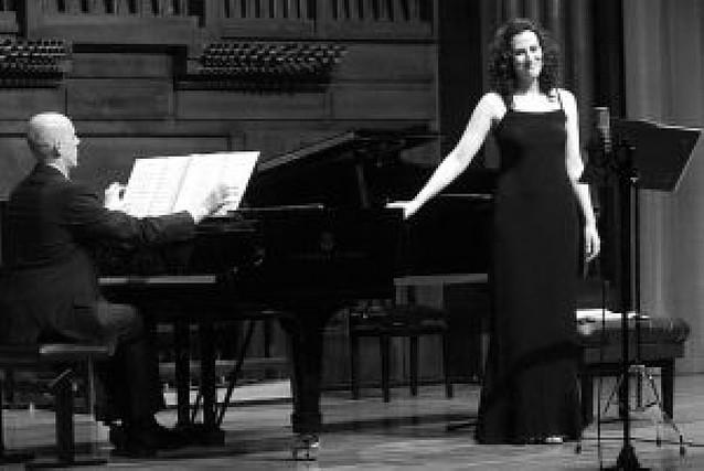 La soprano Amaia Larráyoz ofreció un concierto en Madrid