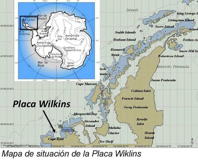 Se desprende una superficie de hielo antártico de dos veces el tamaño de Euskadi