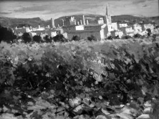 La luz de los paisajes navarros brilla en la galería San Antón