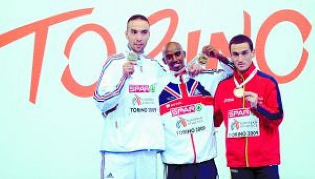 Dos medallas para España y récord de Chambers