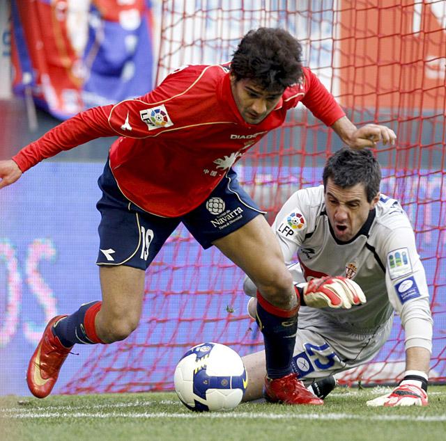 Osasuna encaja una derrota en el Reyno ante un rival directo (1-2)