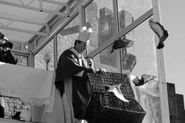 El arzobispo clama contra el aborto en Javier