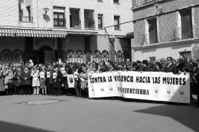Concentración de apoyo a la familia de María Puy Pérez