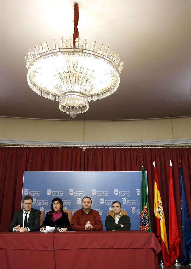 """El PSN denunciará al TAN el """"atropello"""" de llamar Conde de Rodezno a una plaza"""