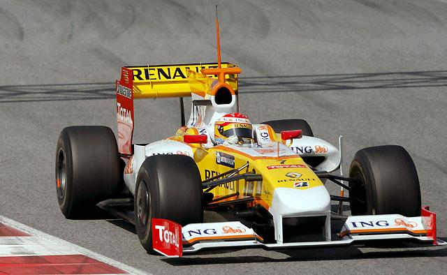 Alonso, lejos de los mejores tiempos en Montmeló