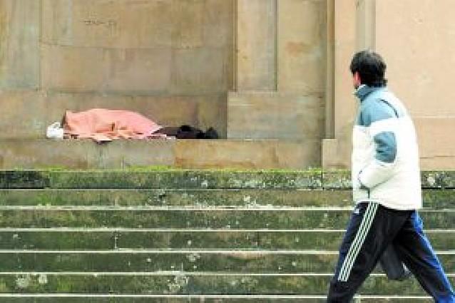 Las familias con dificultad social en Pamplona se triplican en cuatro años