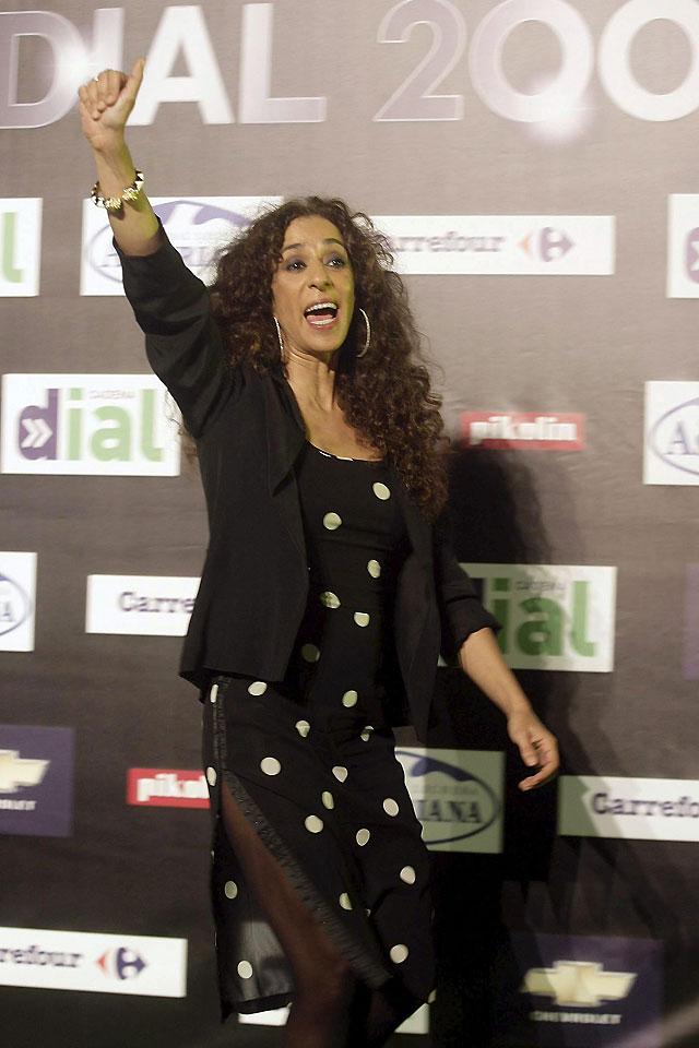 Estopa, Manolo García, Rosario y Luis Fonsi recogen en Tenerife sus premios 'Dial 2008'