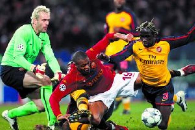 El Arsenal cerró el pleno inglés ante la Romaen los penaltis