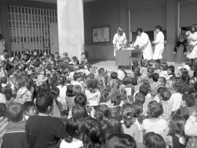 Fiesta de San Luis Orione en el colegio Mater Dei