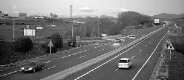 Año y medio sin muertos en la autovía a Logroño
