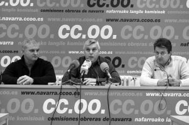 Molinero (CC OO) emplaza a ELA y LAB a que respeten las reglas de juego y la democracia