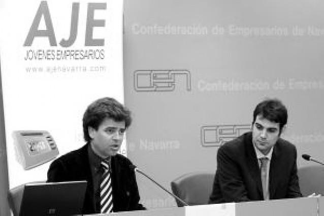 Álex Baquero, del Grupo Inerzia, premio Joven Empresario Navarro