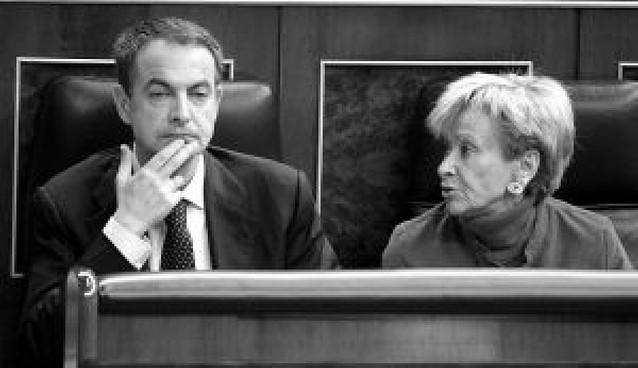 Zapatero y Erkoreka se encaran en su primer choque público tras el 1 de marzo