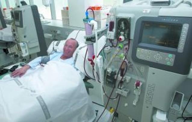 """""""Estoy vivo gracias a esta máquina"""""""