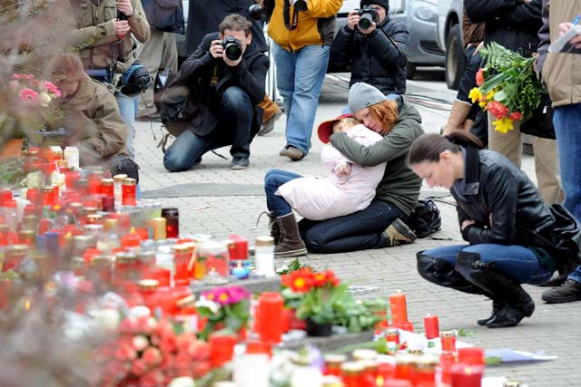 El autor de la masacre en el instituto de Alemania anunció sus intenciones en Internet