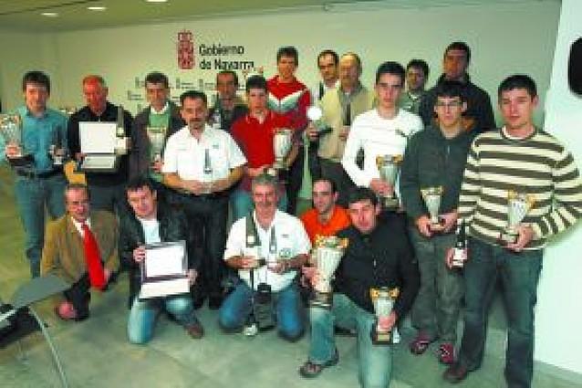 Dos campeones y un subcampeón de España