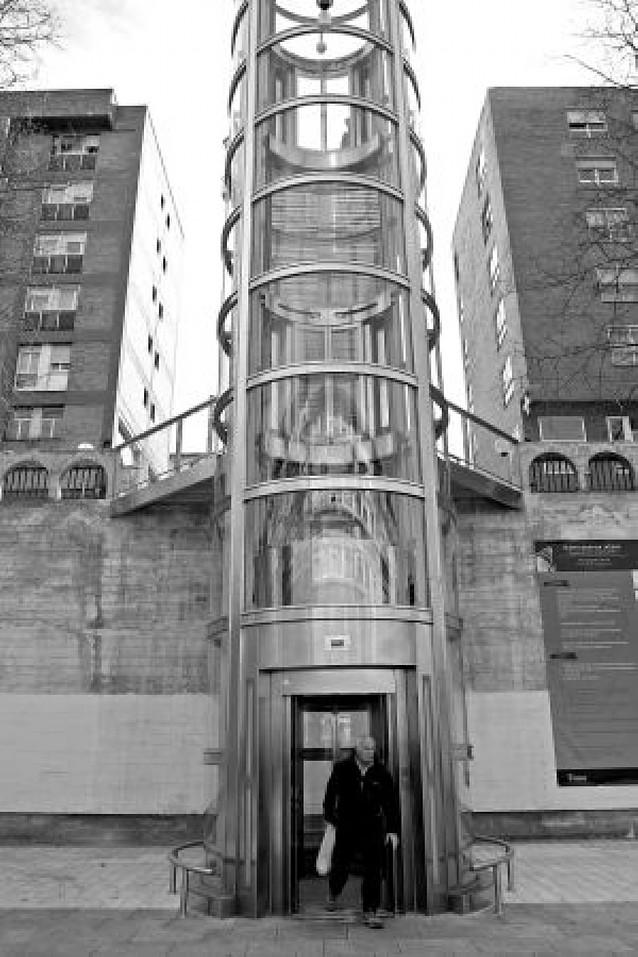 El ascensor cambia la rutina en San Juan