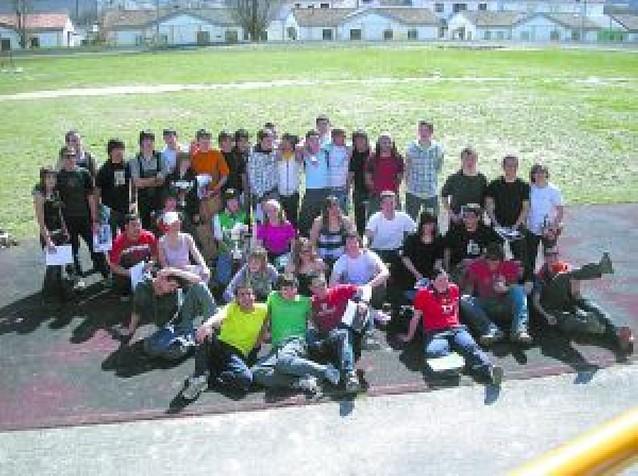 45 participantes en el V Raid del instituto de Lumbier