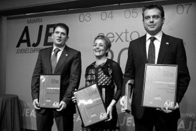 Entregados los premios de la Asociación de Jóvenes Empresarios